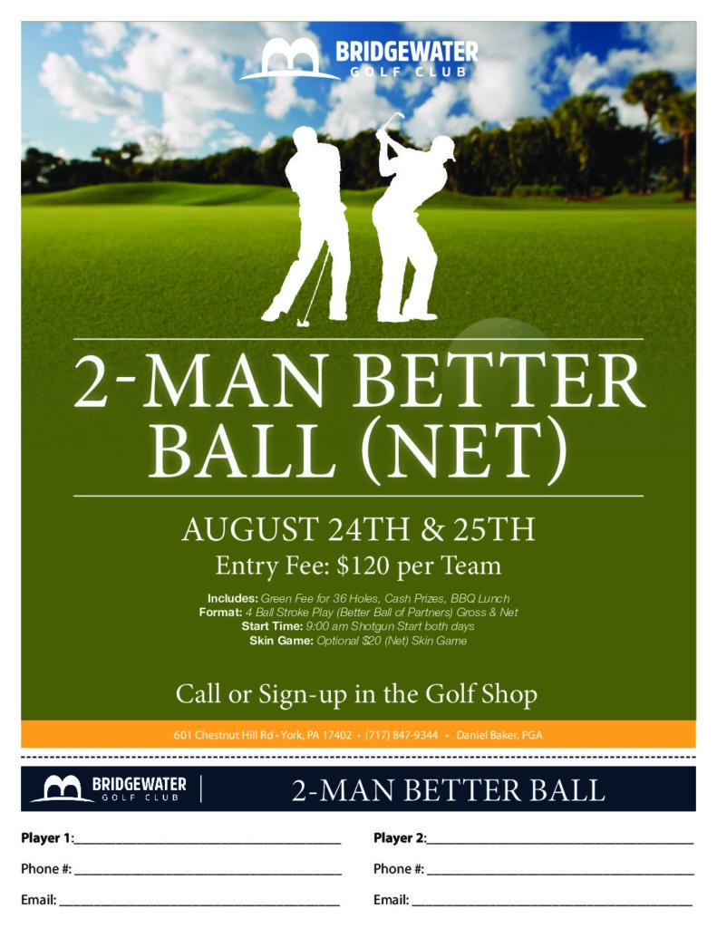 2-Man Better Ball