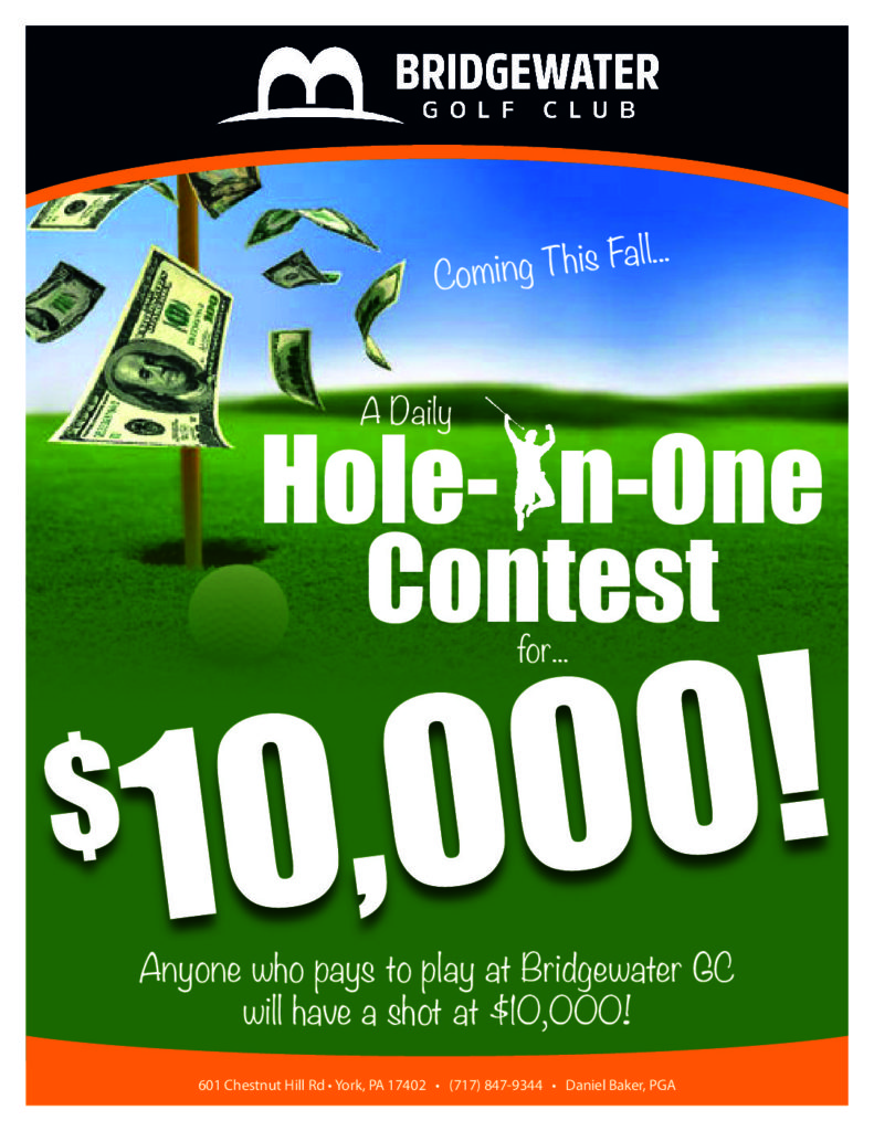Hole-In-One Contest