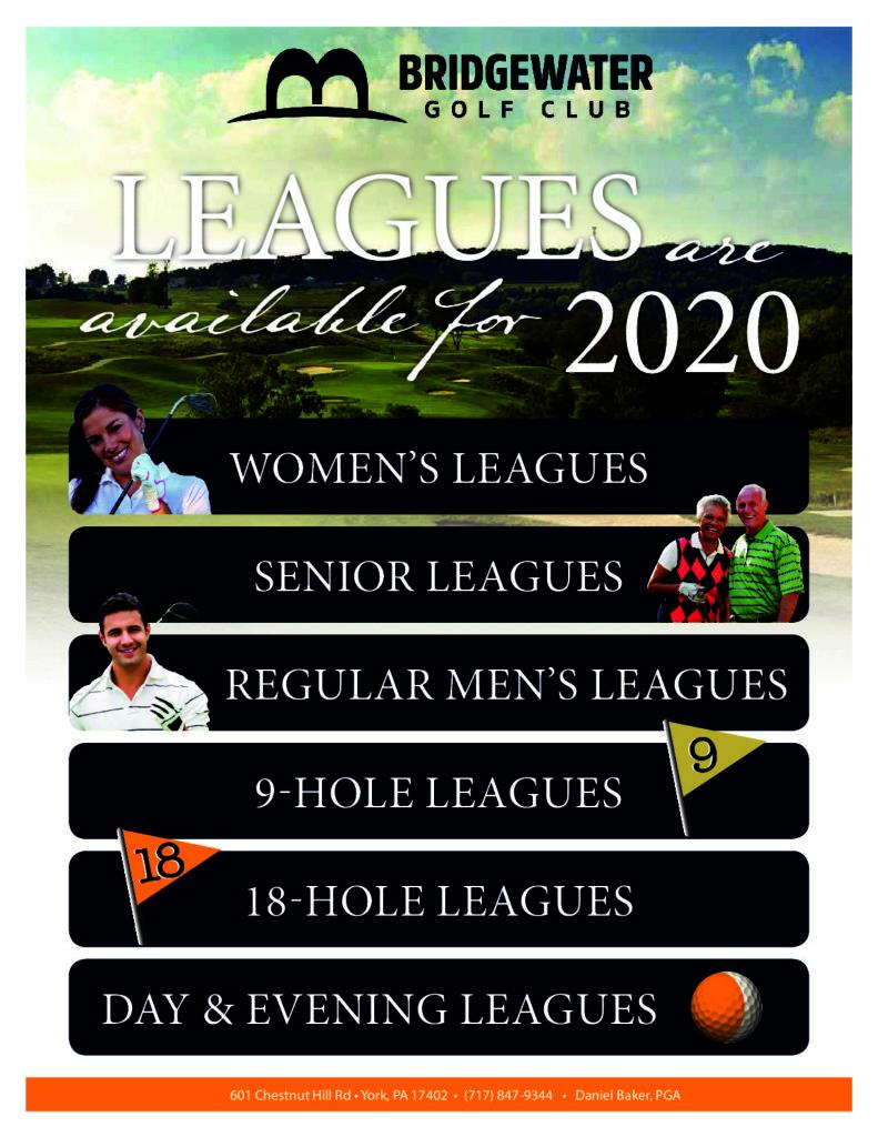 2020 Leagues