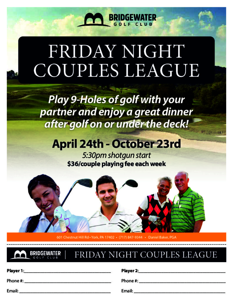 Friday Night Couples League