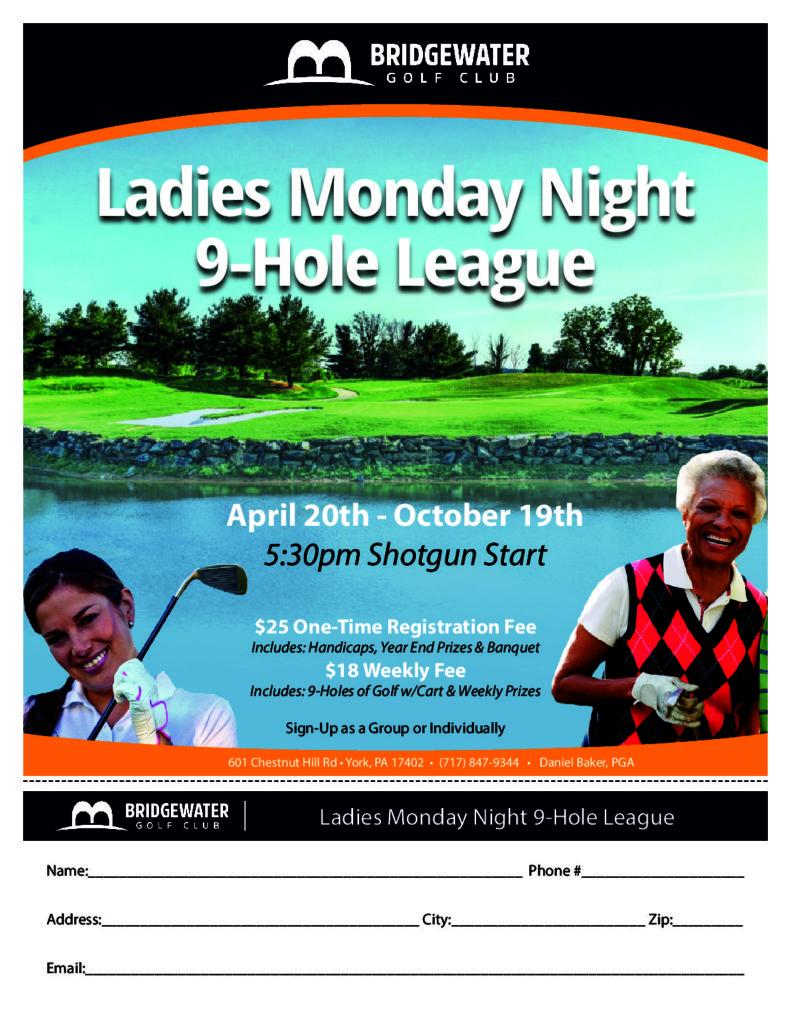 Monday Ladies League